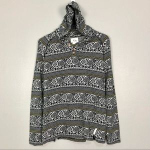 Urban Outfitters Koto Tribal Hoodie Pullover Aztec